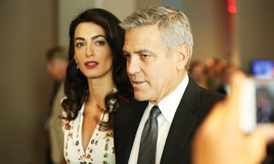 Is George Clooney's Wife Amal Pregnant? See a Hint of Her Tiny Baby Bump