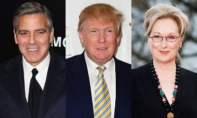 George Clooney Slams Donald Trump for Branding Meryl Streep 'Overrated'
