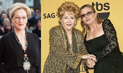 Meryl Streep Among Stars Attending Memorial Service for Carrie Fisher and Debbie Reynolds
