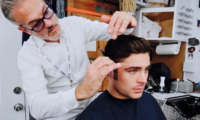 Zac Efron Sports Clean-Cut Sideburns for 'The Greatest Showman'
