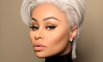 Blac Chyna Debuts Gray Pixie Haircut on Instagram. Channeling Kris Jenner?