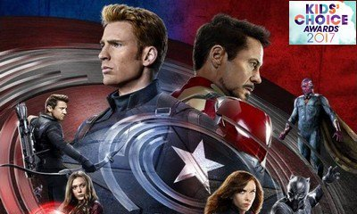 'Captain America: Civil War' Tops 2017 Nickelodeon's Kids' Choice Awards Nominations in Movie