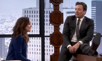 Dakota Johnson Helps Jimmy Fallon Spoof 'Fifty Shades of Grey' and the Result Is Hilarious