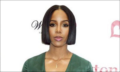 Kelly Rowland Covers Her Tummy Amid Pregnancy Rumors
