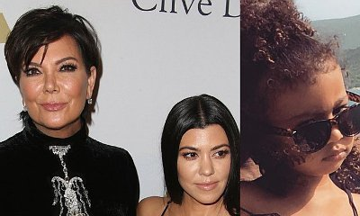 Kourtney Kardashian and Kris Jenner Babysitting North as Kim and Kanye Are in NYC for His Show