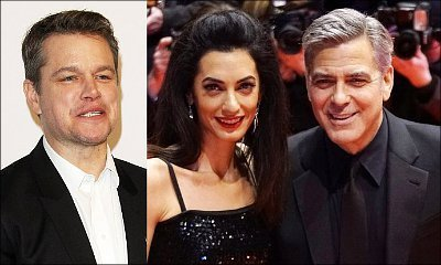 Matt Damon Says He Almost Started Crying When George Clooney Told Him About Amal's Pregnancy