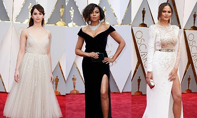 Oscars 2017: Felicity Jones, Taraji P. Henson, Chrissy Teigen Stun on Red Carpet