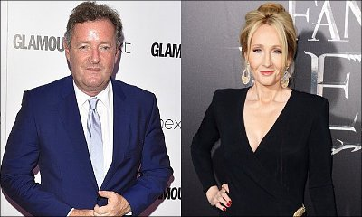 Piers Morgan and J.K. Rowling Spar on Twitter After He Was Told to 'F**k Off' on TV