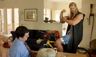 Thor Brags About His Muscles in 'Team Thor: Part 2' Mockumentary