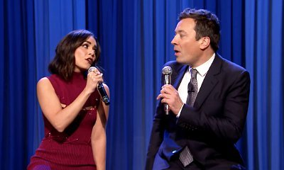 Vanessa Hudgens Links Up With Jimmy Fallon to Sing 'Friends' Theme Song