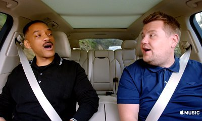 Will Smith, James Corden and Ariana Grande Are Featured in First 'Carpool Karaoke' Promo