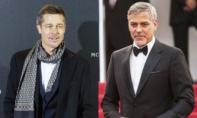 Brad Pitt Wants to Fix His Friendship With George Clooney