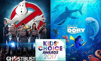 'Ghostbusters' and 'Finding Dory' Win Big at 2017 Kids' Choice Awards in Movie