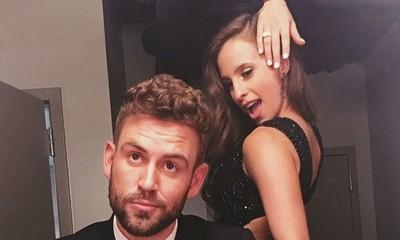 Nick Viall and Vanessa Grimaldi Show Off Engagement Ring on Instagram