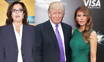 Rosie O'Donnell Urging Melania Trump to Divorce Donald Trump and 'Flee'