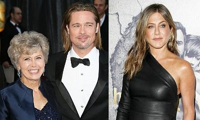 Brad Pitt's Mom Is Begging Jennifer Aniston to Help Her Son