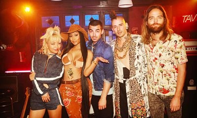 DNCE Recruits Nicki Minaj for New Single 'Kissing Strangers' - Watch the Snippet
