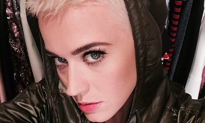 Katy Perry Debuts Brand New Platinum-Blonde Pixie Cut