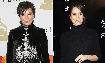 Royal Obsession! Kris Jenner Desperately Tries to Befriend Meghan Markle