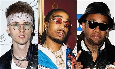 Machine Gun Kelly Teams Up With Quavo and Ty Dolla $ign for New Song 'Trap Paris'