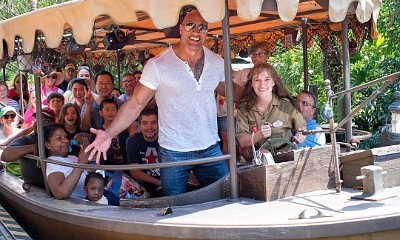 Surprise! The Rock Commandeers Jungle Cruise Boat Full of Tourists at Disney World