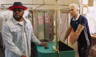 Adam Levine Works at Dry Cleaners in Big Boi's Music Video for 'Mic Jack'