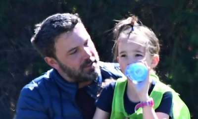 The Cutest Date Ever! Ben Affleck Takes Seraphina to Her First Father-Daughter School Dance
