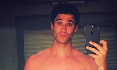 Cheeky! Darren Criss Bares His Ripped Body in New Smoking Hot Naked Selfie