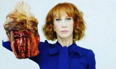 Kathy Griffin Defends Controversial Bloody Donald Trump 'Head' Photo Shoot