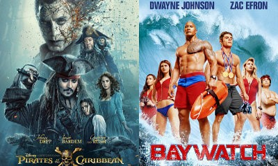 'Pirates of the Caribbean 5' Sails to No. 1 at Box Office, 'Baywatch' Sinks