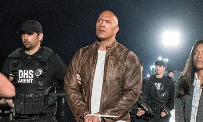 The Rock Shares 'Rampage' Set Photos