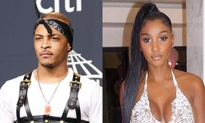 T.I. Gets Sexy Time With Rumored Girlfriend Bernice Burgos at Meek Mill's Bash