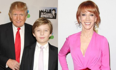 Donald Trump's Son Barron Thought It Was His Dad in Kathy Griffin's Beheaded Image
