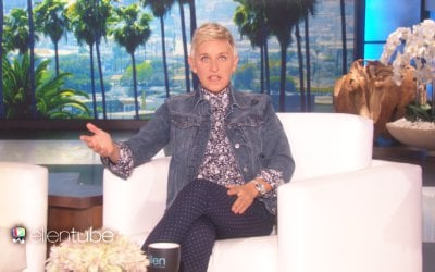 Ellen DeGeneres Punishes Audience Member for Stealing on the Show