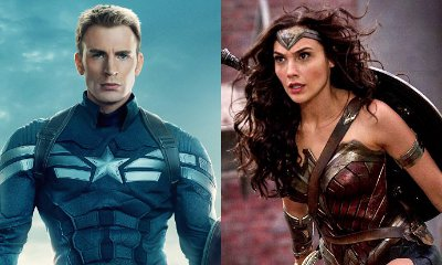 Marvel's Captain America Congratulates DC's Wonder Woman on Twitter