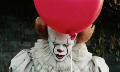Pennywise Depicter Bill Skarsgard Makes Children Cry on 'It' Set