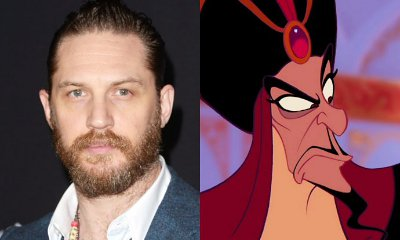 Tom Hardy Is Reportedly in Talks to Play Jafar in 'Aladdin'