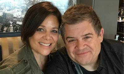 Patton Oswalt and Meredith Salenger Slam Trolls Saying They're Engaged Too Close to His Wife's Death