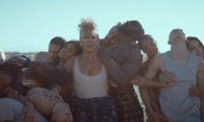 Pink Sends Powerful Message in 'What About Us' Music Video