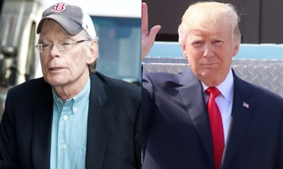 Revenge Is On! Stephen King Bans Trump From Seeing 'It' After Getting Blocked on Twitter
