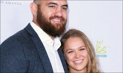 Ronda Rousey Marries Travis Browne - Check Out Their First Wedding Pic!