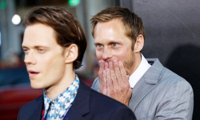 Alexander Skarsgard Pranks His Brother Bill at 'It' Premiere. See the Funny Pics!