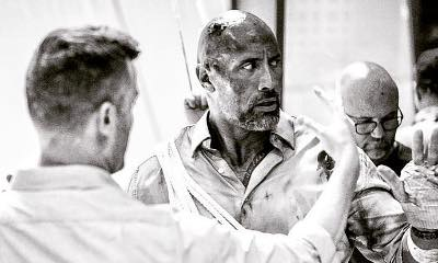 Dwayne Johnson Gets Bloody and Battered in 'Skyscraper' New Set Photo