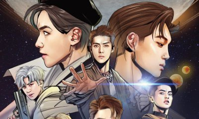 EXO Turns Into Comic Book Characters on