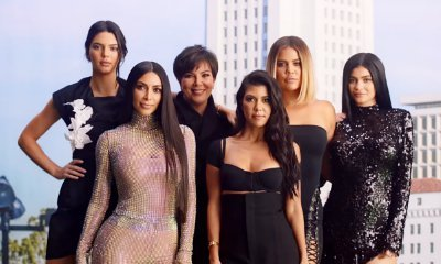 Kim Kardashian and Family Recreate