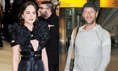 Dakota Johnson Rumored to Get Cozy With Chris Martin Amid Jon Hamm Romance Rumors