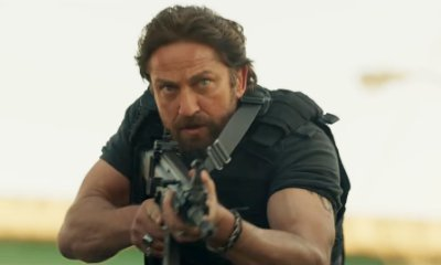 Watch Gerard Butler Hunt Down 50 Cent in Action-Packed Trailer for 'Den of Thieves'