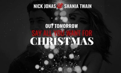 Nick Jonas Unleashes Country Christmas Song 'Say All You Want for Christmas' Ft. Shania Twain