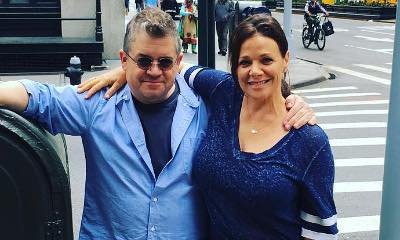 Patton Oswalt Marries Meredith Salenger, Shares Photos of His Wedding