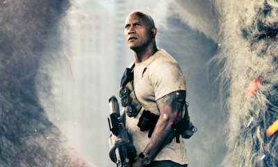 'Rampage' First Teaser Poster Shows Dwayne Johnson's Giant Friend